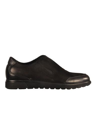 Luciano Bellini Lucıano Bellını 103115 Kahve-Nubuk Erkek Günlük Ayakkabı Siyah